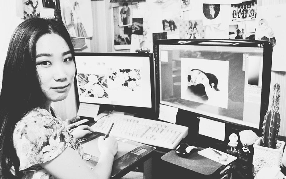 In the Studio: Dani Soon 5