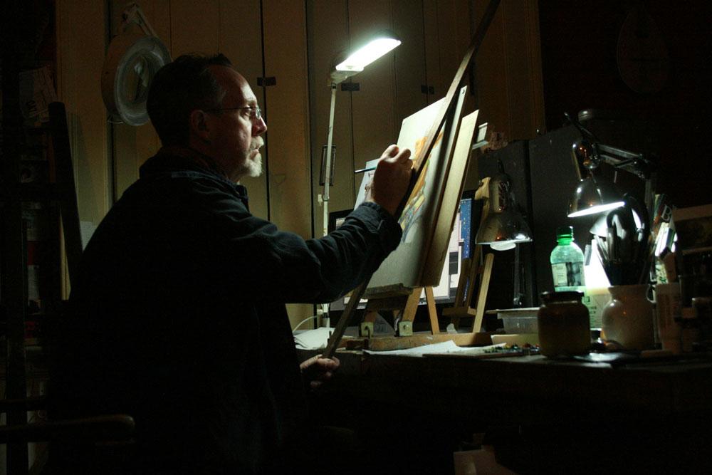 In the Studio: David Lawrence 6