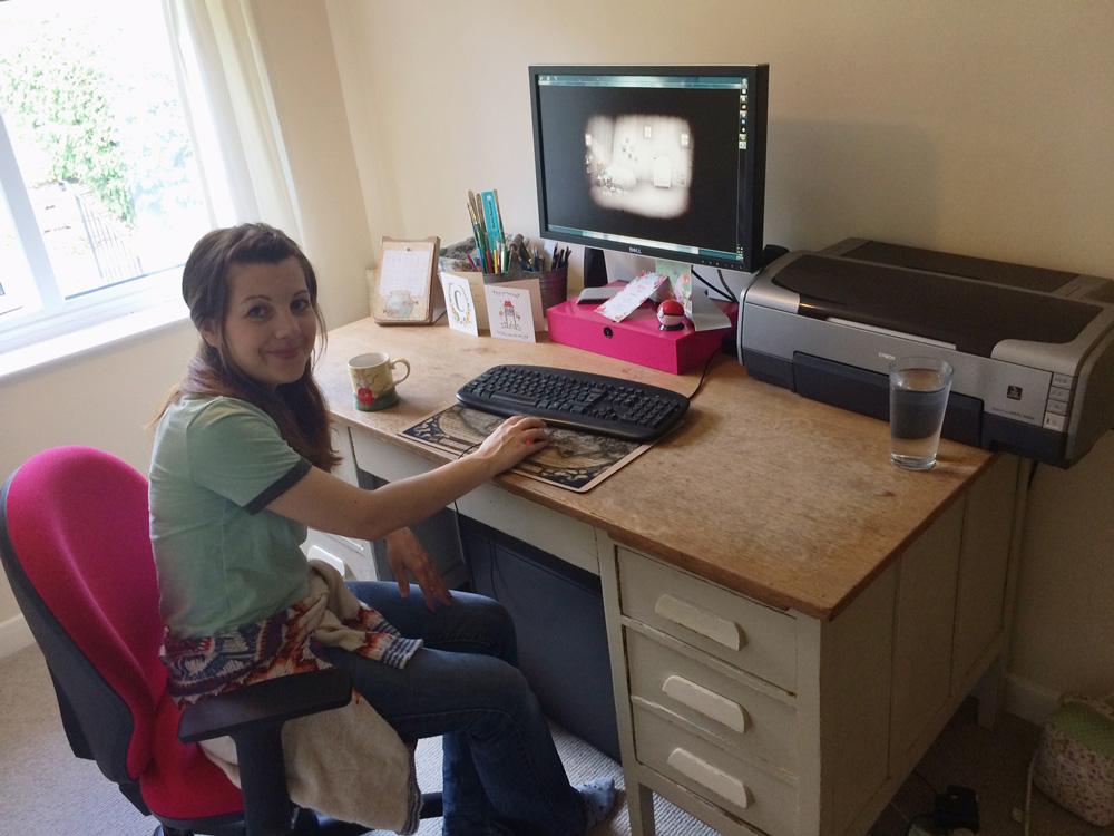 In the Studio: Lisa Evans 5