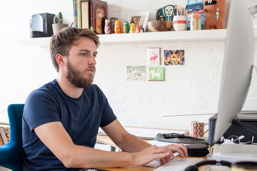 In the Studio: Owen Davey 3
